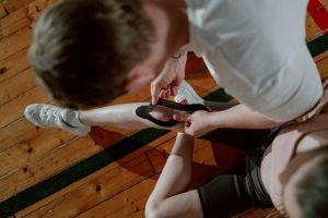 Knee Pain and Splint